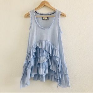 Anthropologie Meadow Rue Petticoat Tank Top S
